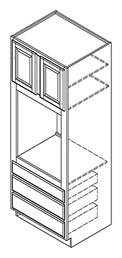 oc302484-oc332496 oven cabinets