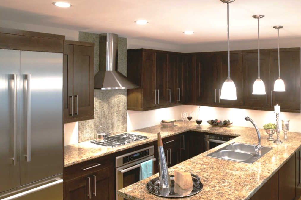 Espresso shaker salt lake city utah awa kitchen cabinets for Cappuccino kitchen cabinets