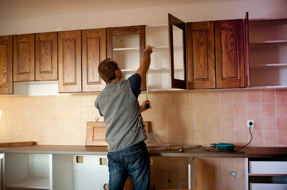 installation alberta a building or must homeowner professional when renovating kitchen new calgary cabinet is in for services