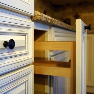 antique white cabinets utah