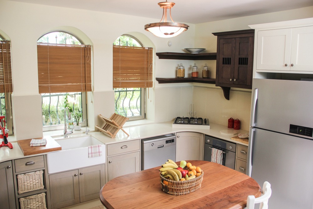 neutral brighter colors kitchen remodels